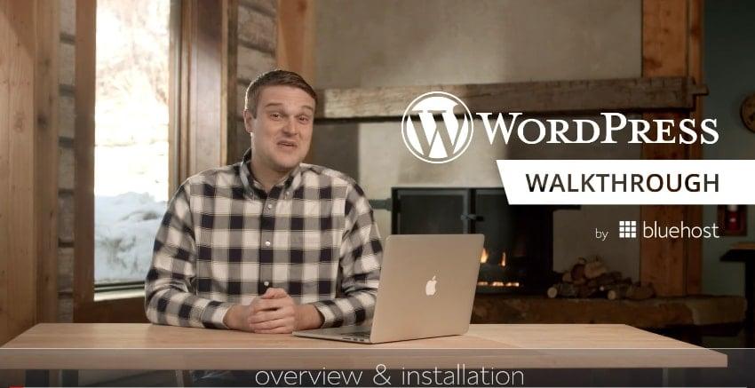 BlueHost WordPress Training Videos