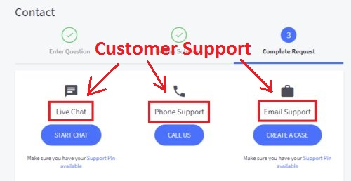 Customer Support-BIGCOMMERCE
