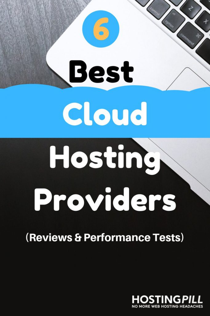 best cloud hosting infographic