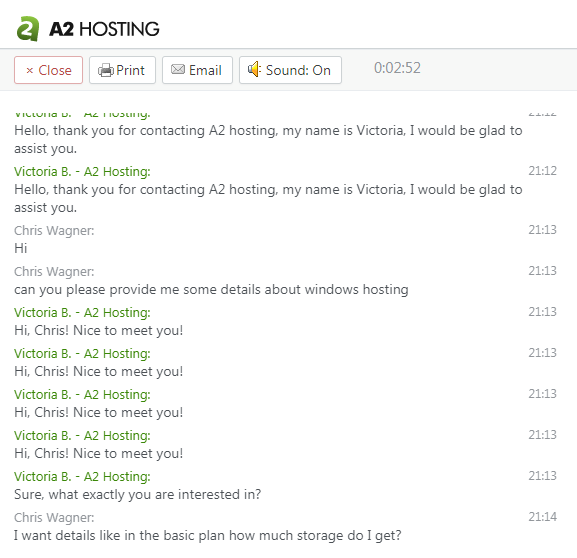a2-hosting-chat