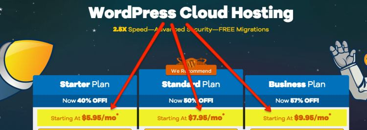 WordPress Hosting HostGator