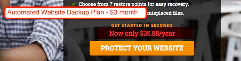 Automated Website Backup Plan Hostpapa