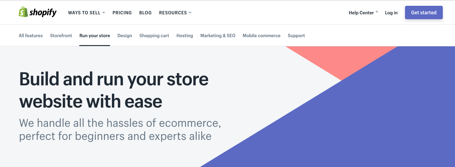 shopify as squarespace alternative