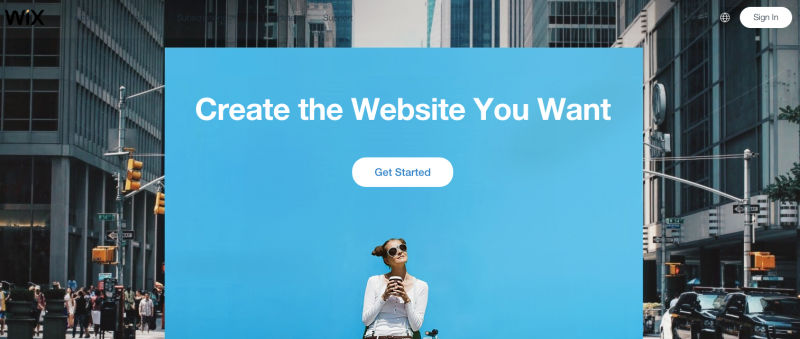 wix as squarespace alternative