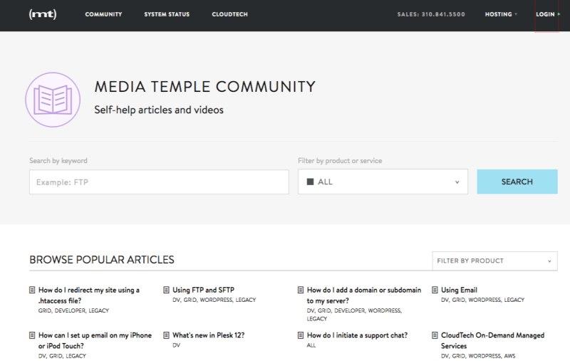 Media Temple Community - Media Temple