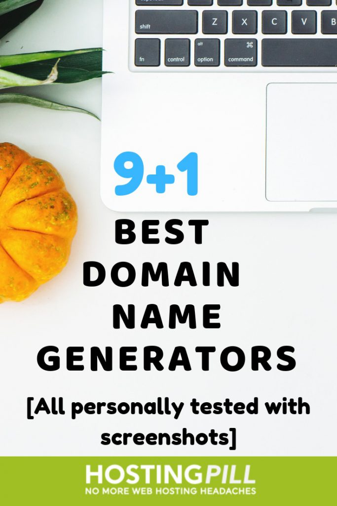 domain name generators infographic