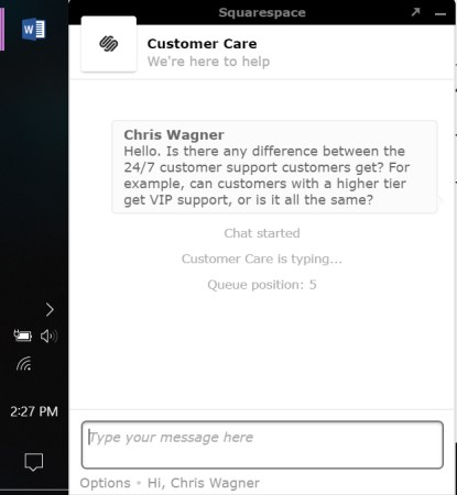 squarespace chat 1