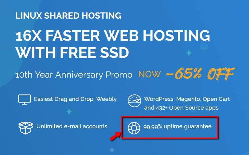 TMD Shared Hosting Feature