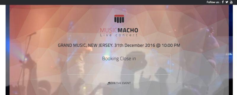 Musicmacho wordpress theme