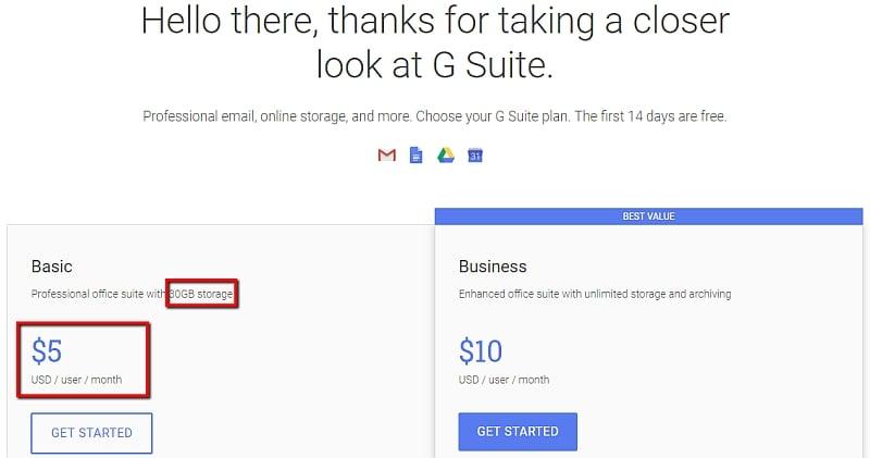 google domain prices