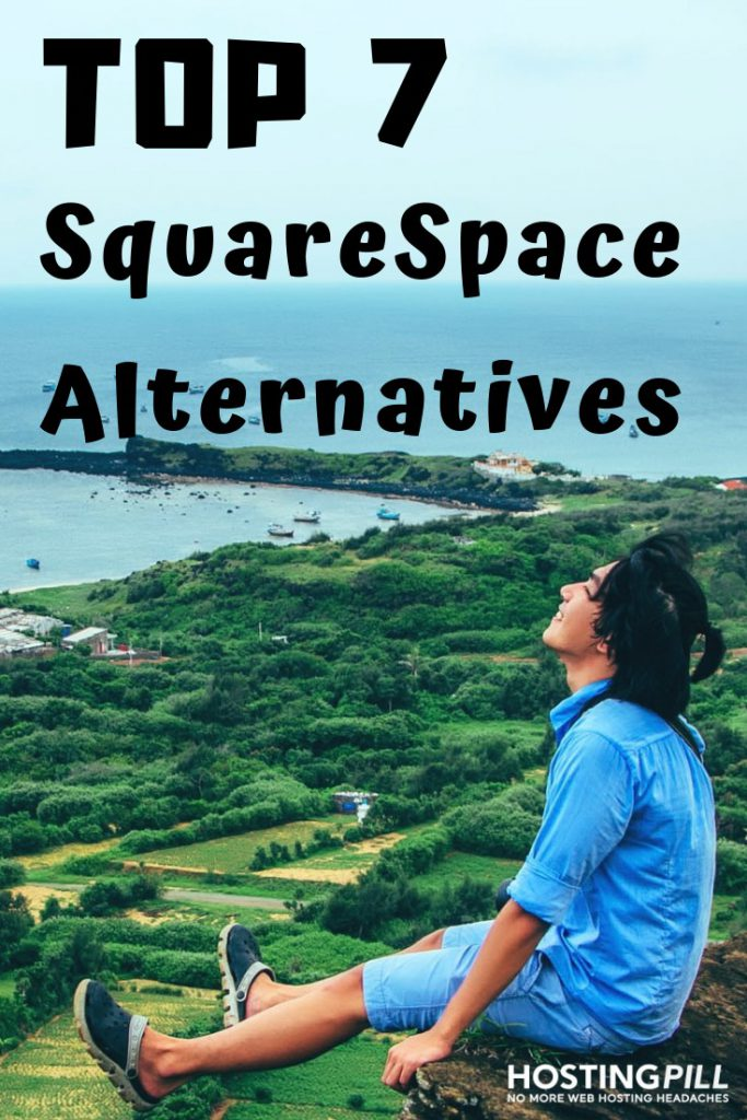 squarespace alternatives infographic