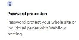 webflow-password-protection