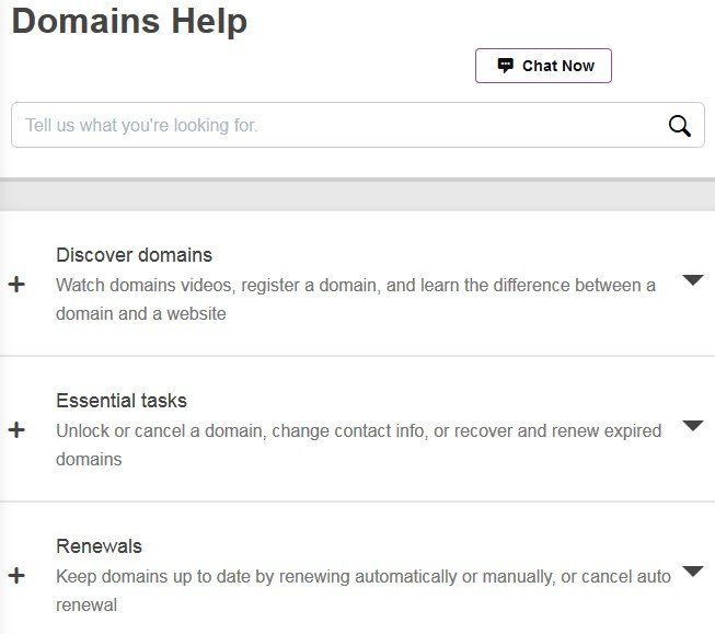 domains-help