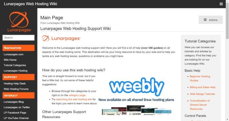 Lunarpages wiki
