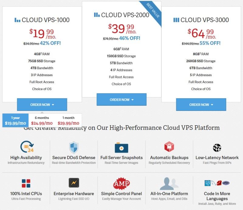 inmotion vps cloud