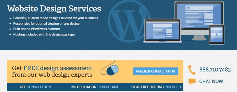inmotion web design services