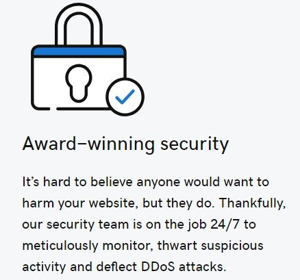 godaddy award winning security