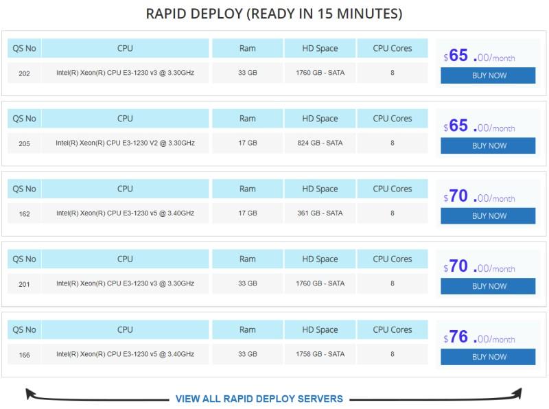 interserver rapid deploy