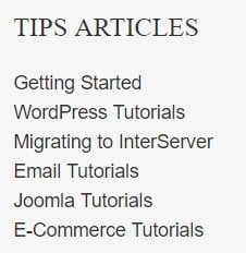 interserver tips articles