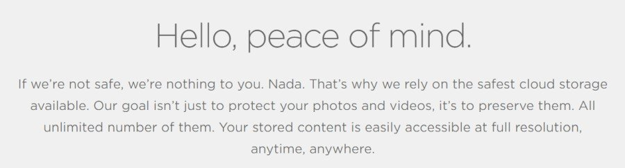 SmugMug  cloud storage