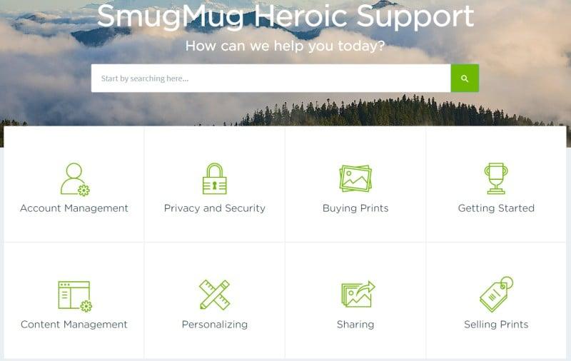SmugMug  support