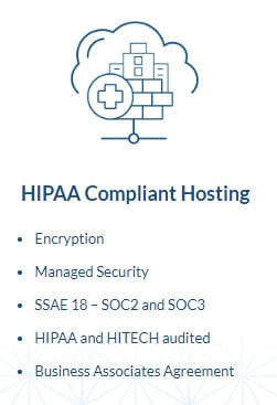 Hipaa compliant features