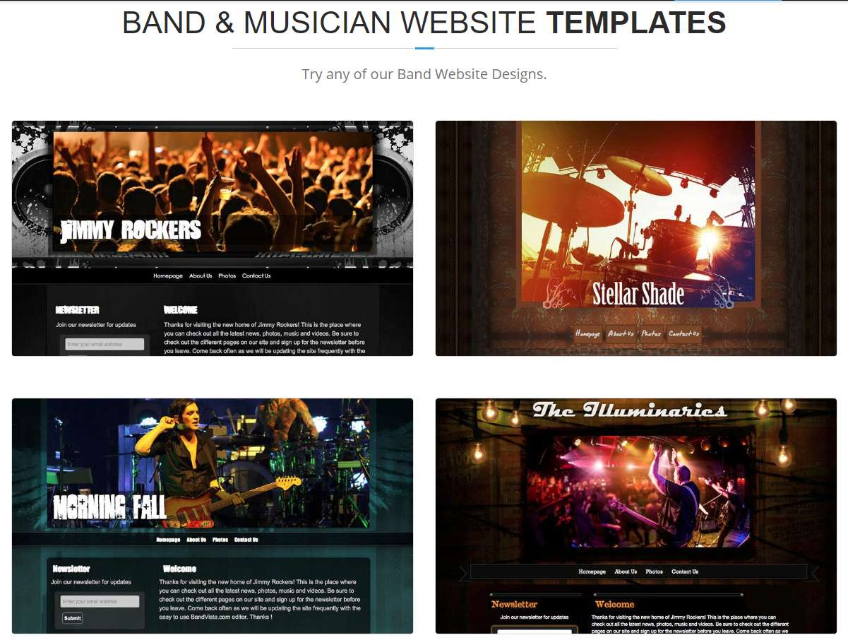 builders for musicians-bandvista-design