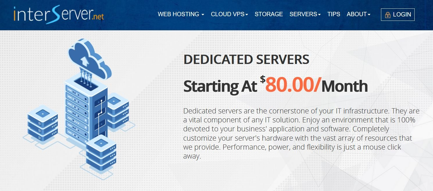 Interserver Dedicated Hosting