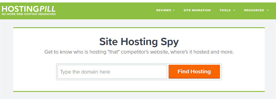 Site Hosting Spy