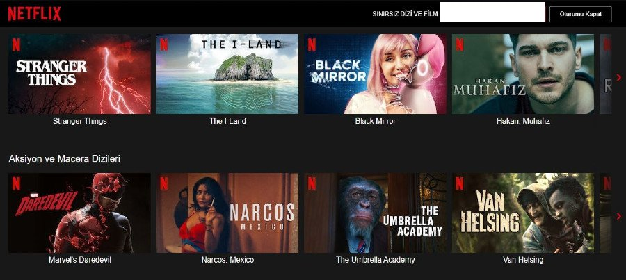 Netflix Turkey
