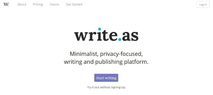 Escribe como