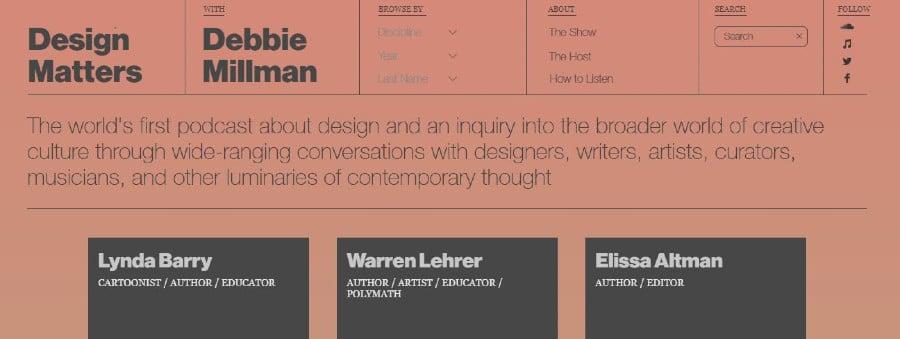 Asuntos de diseño
