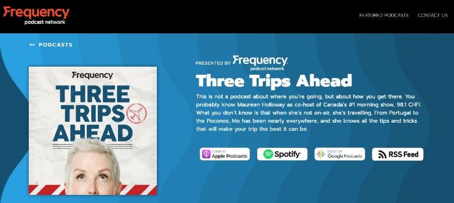 Tres viajes por delante