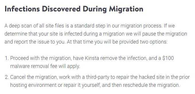 Kinsta Infections