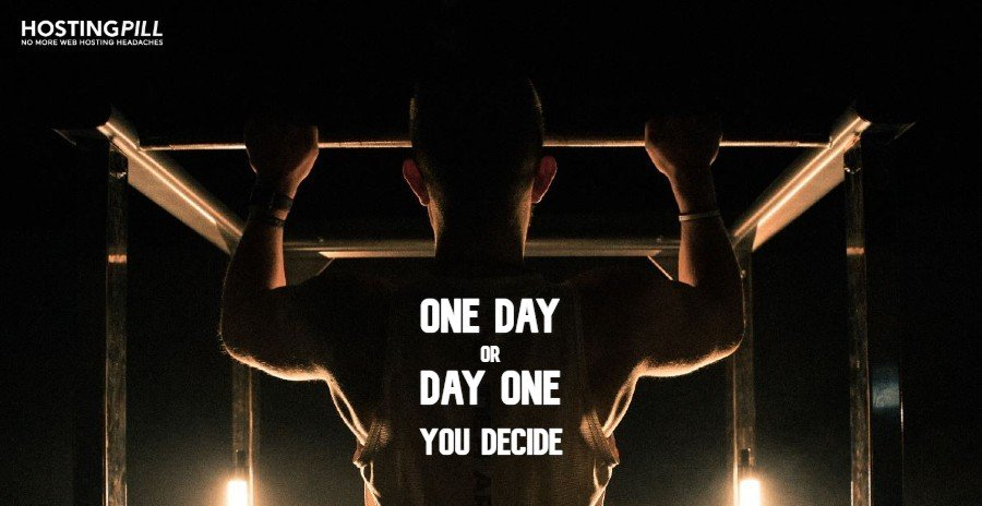 One day or Day One - you decide.