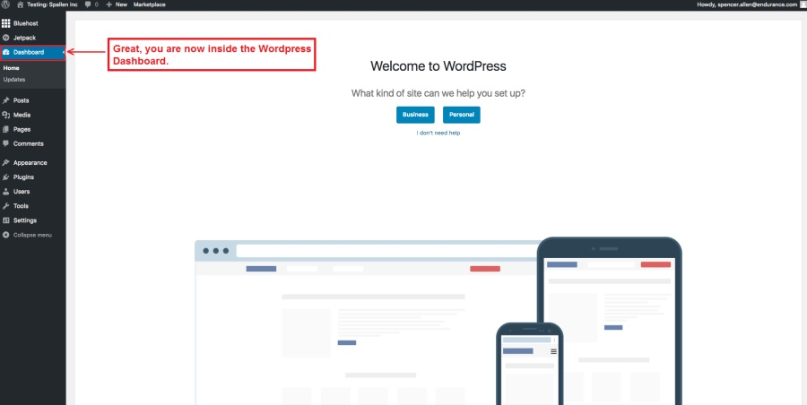 2 -Welcome to WordPress copy