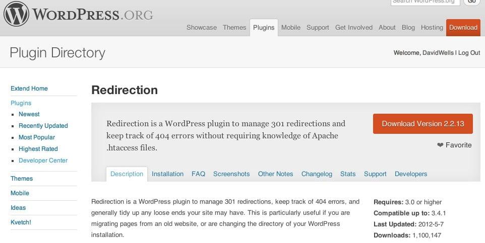 301 redirect wordpress plugin