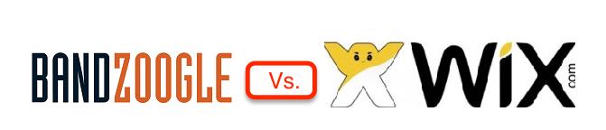 Bandgoogle vs wix