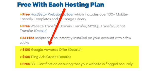 Free SSL and more with HostGator