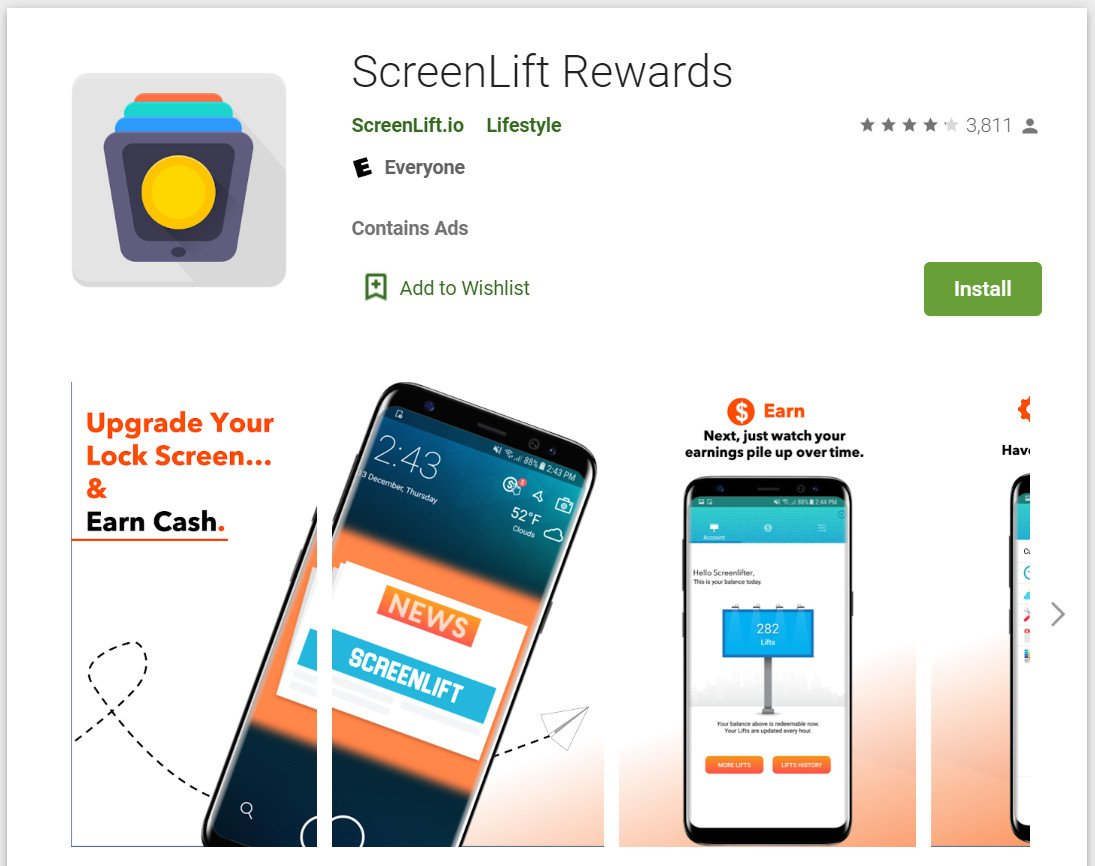 ScreenLift Rewards