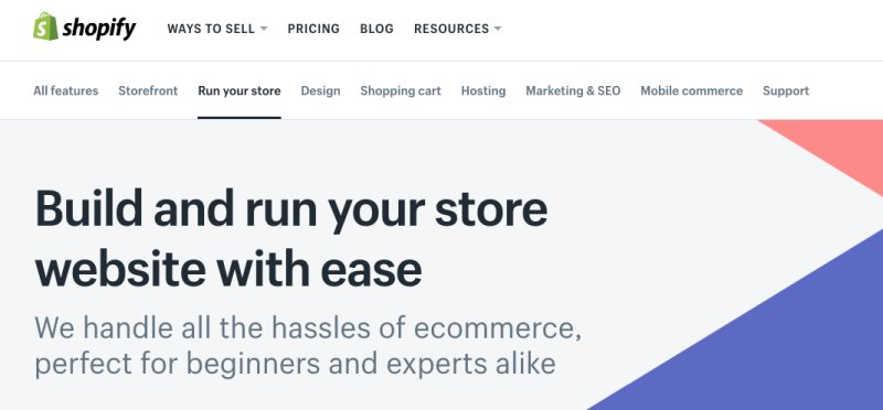 Shopify as Wix Alternatives