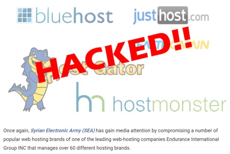 bluehost security breach