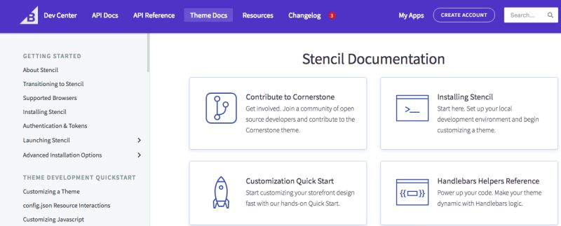 bigcommerce stencil documentation