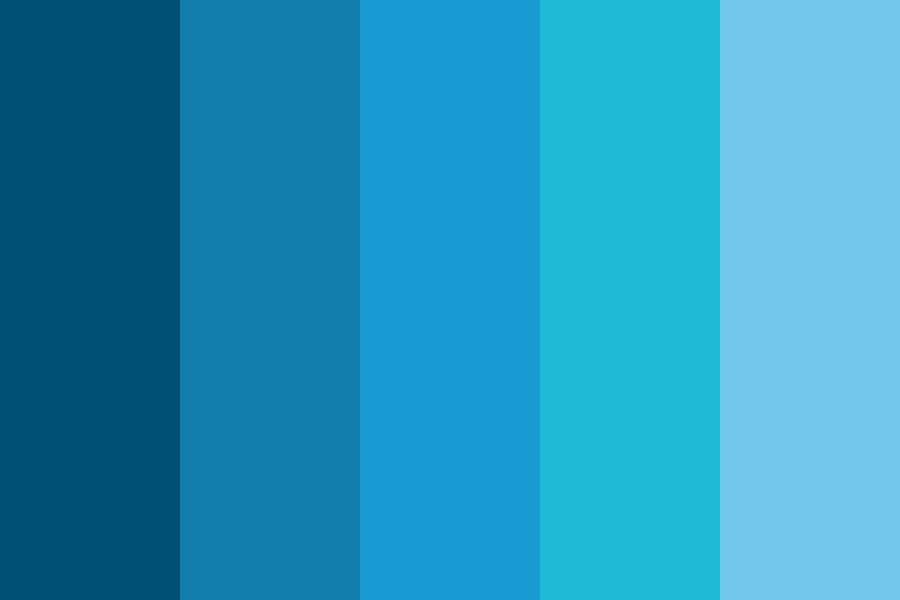 Blue Color psychology website