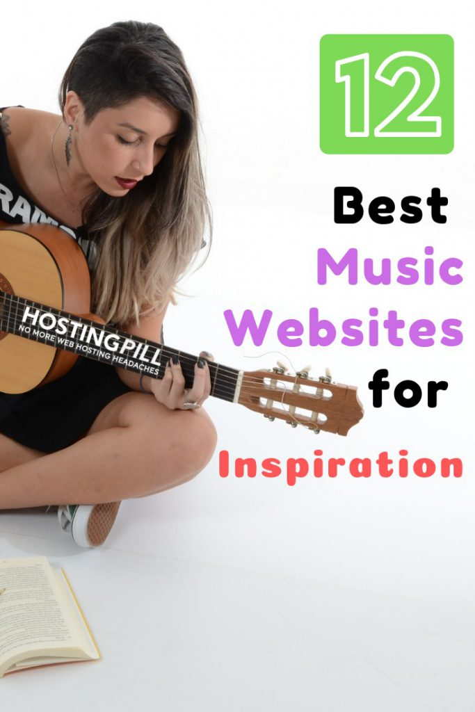 free Music sites Infographic