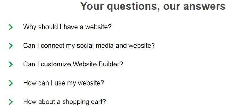godaddy faq