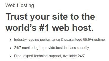 godaddy webhosting