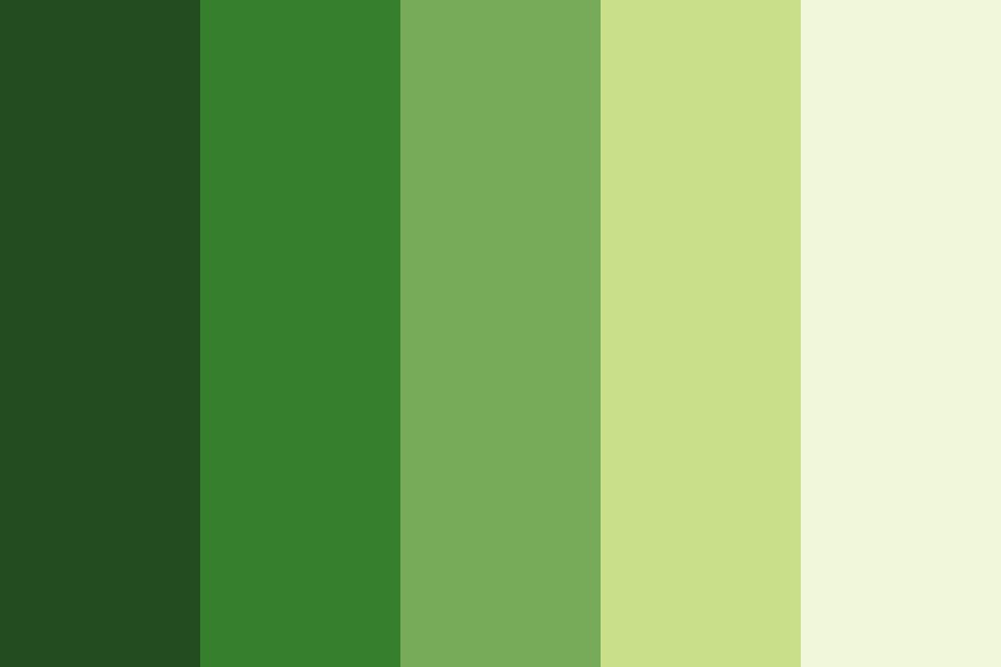 Green Color psychology website