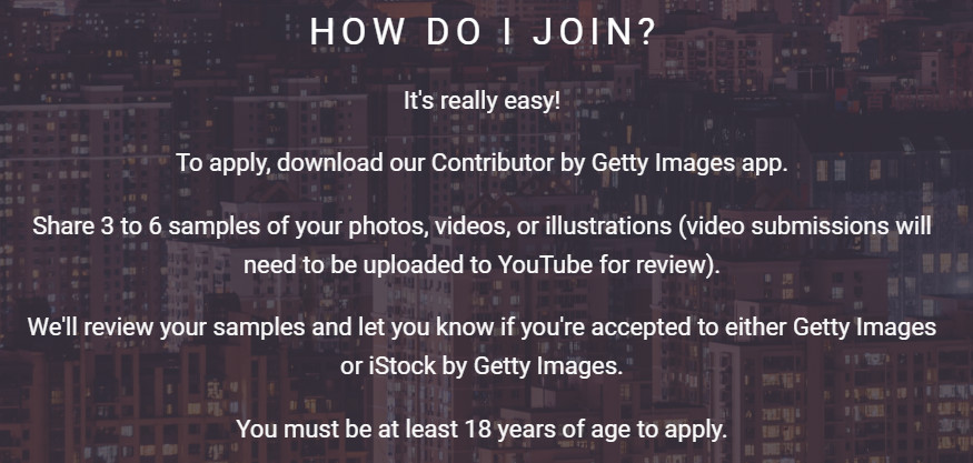 how to join getty images