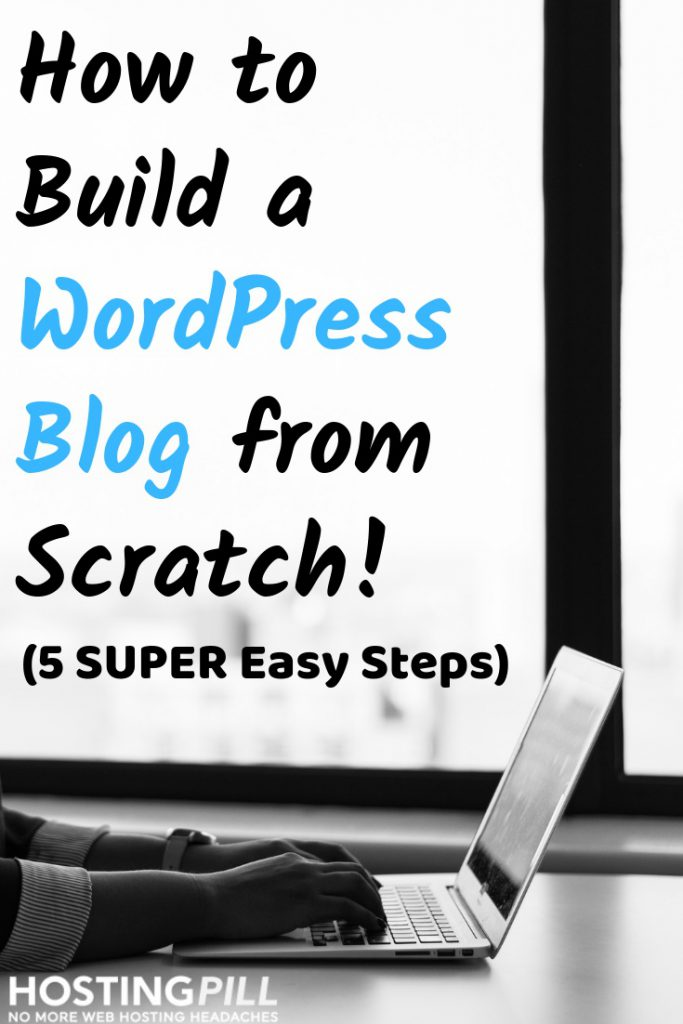 how to start blog infographic